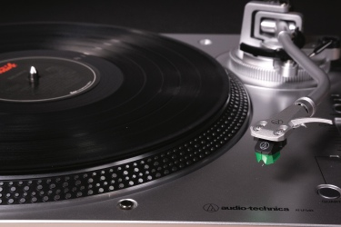 AT-LP120XUSB silver close-up