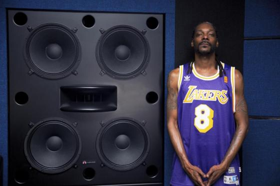 Snoop Dogg with his Augspurger Quattros